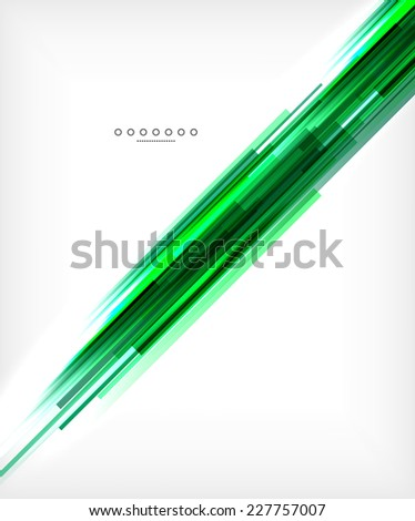 Unusual abstract background - thin straight lines, business template or layout for business card - stock photo