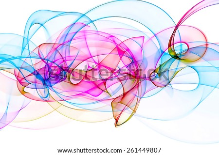 unusual abstract colorful background - stock photo