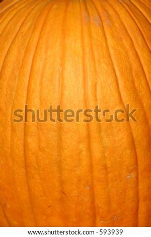 Up Close - Pumpkin - stock photo