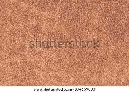 upholstery fabric- cinnamon color - stock photo