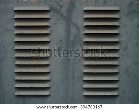 Urban abstract,old and dirty metallic surface - stock photo