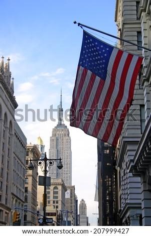 Urban architecture in New York City, USA  - stock photo