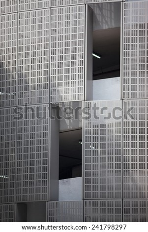 Urban buildings skyscrapers background. Singapore. Asia - stock photo