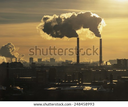 urban landscape - stock photo