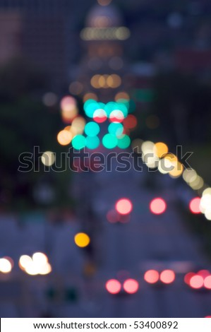 Urban lights - stock photo