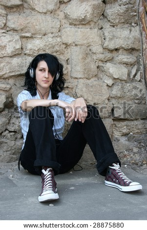Urban music - stock photo
