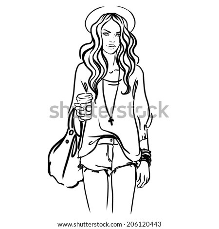Urban Hipster Drawings Urban Street Style Pretty