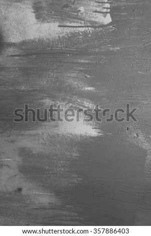 Urban textured wall background. Grunge street wall texture for your design. Black and white grunge painted wall texture. - stock photo