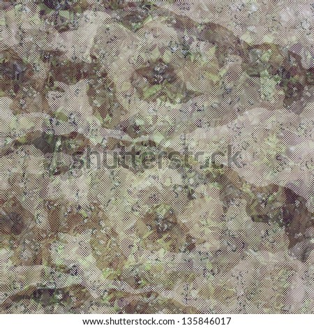 Us Army Fabric Texture Background - stock photo