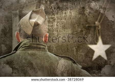 US Army soldier - stock photo