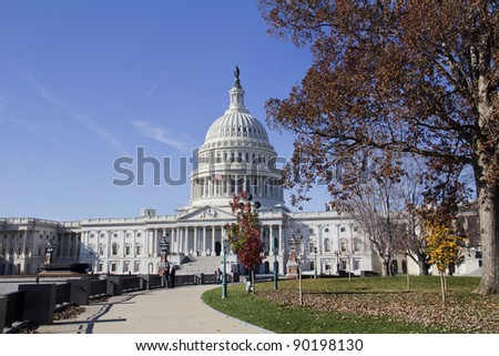 US Capitol Building, Washington, DC - stock photo