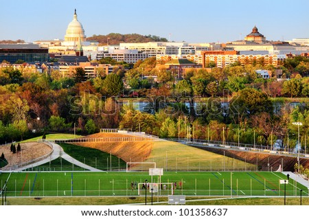 US Capitol Building, Washington DC, USA - stock photo