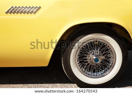 US Classic Car - stock photo