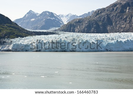 USA - Alaska - Margerie Glacier - Glacier Bay National Park and Preserve - Travel Destination / Alaska Glacier National Park - stock photo