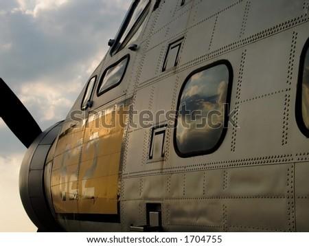 USAF Airplane - stock photo