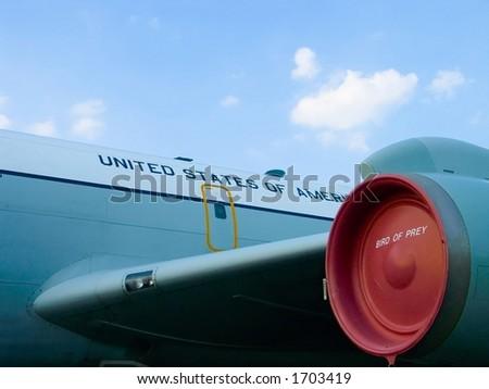 USAF Plane - stock photo