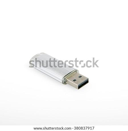 USB flash - stock photo