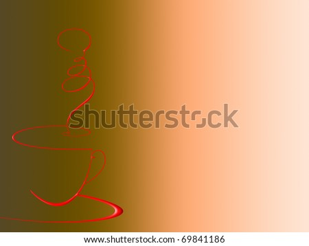 used as a menu bar or coffee. free space for your content - stock photo