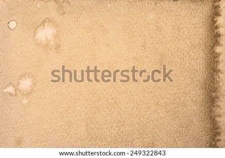 used paper texture. watercolor background. template - stock photo