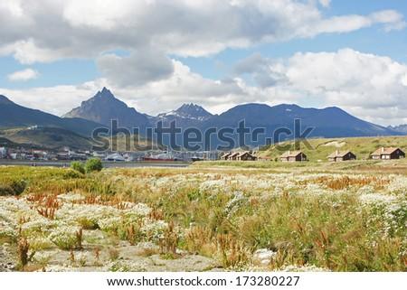 Ushuaia, Tierra del fuego, Argentina - stock photo