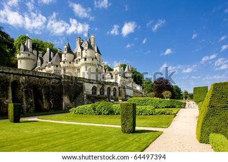 Usse Castle, Indre-et-Loire, Centre, France - stock photo