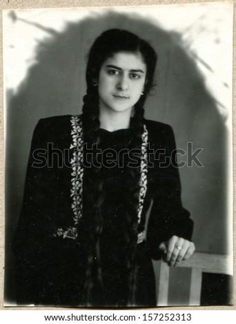 Azerbaijani girl student of midwifery school makhachkala dagestan