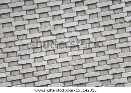 USSR pattern of bricks - stock photo