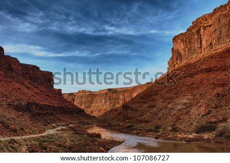 Utah Canyons - stock photo