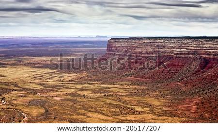 Utah Landscape  - stock photo