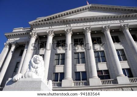 Utah State Capitol Building - stock photo