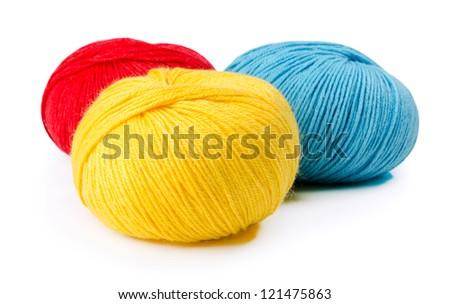 uterus of threads - stock photo