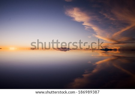 uyuni bolivia - stock photo
