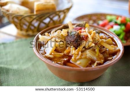 Uzbek Food - stock photo