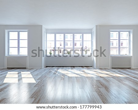 Vacancy Apartment - stock photo