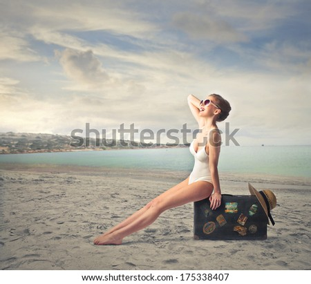 vacation - stock photo