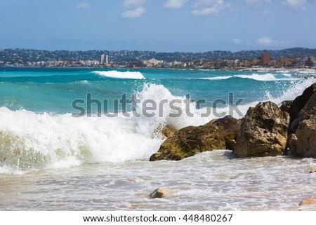 Vacation in Alicante - stock photo