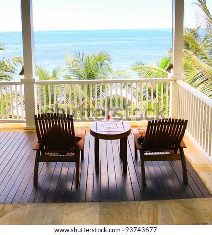 Vacation Summer Hotel - stock photo
