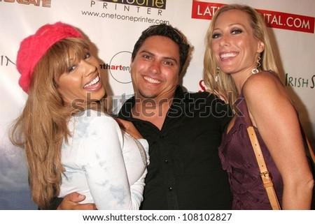 "Valentina and Melissa Mojo Hunter  at the world premiere screening of ""No Bad Days"". Egyptian Theatre, Hollywood, CA. 07-08-08 - stock photo"