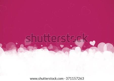 Valentine's day. Pink background. - stock photo