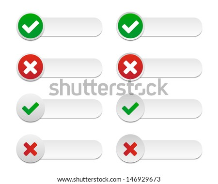 Validation labels. Vector available. - stock photo