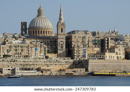 Valletta - stock photo