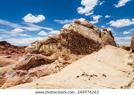 Valley Of Fire State Park - stock photo