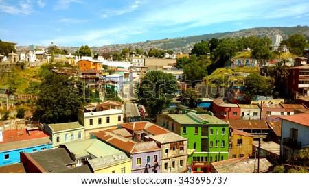 Valparaiso, Chile - stock photo
