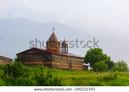 Vanadzor St. Astvatsatsin (Holy Mother of God) Church, Armenia - stock photo