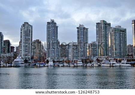 Vancouver Bay - stock photo
