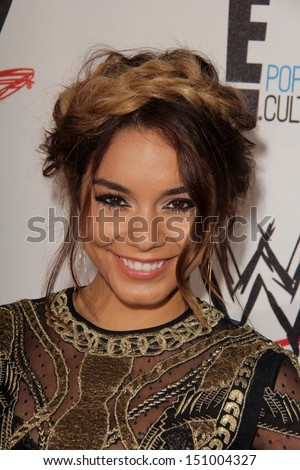 Vanessa Hudgens at Superstars for Hope honoring Make-A-Wish, Beverly Hills Hotel, Beverly Hills, CA 08-15-13 - stock photo