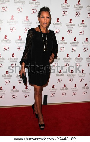 Vanessa Williams at the St. Jude Children's Research Hospital 50th Anniversary Gala, Beverly Hilton, Beverly Hills, CA 01-07-12 - stock photo