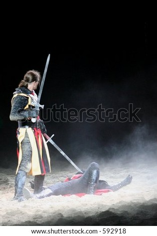 Vanquished Foe - stock photo