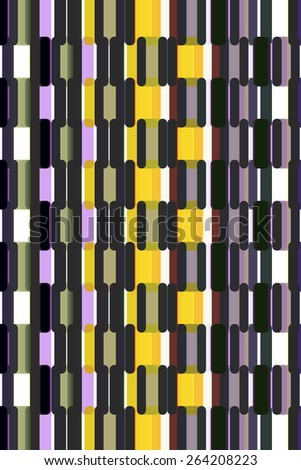Varicolored abstract pattern for decoration and background - stock photo