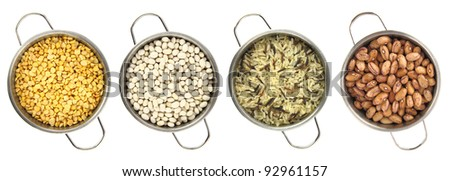 Variety of legumes - stock photo